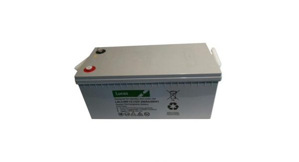 12V 200AH Lucas AGM Leisure Battery (LSLC12-200)-0