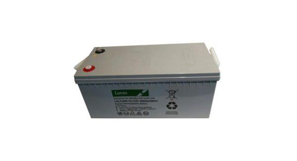 12V 180AH Lucas AGM Leisure Battery (LSLC180-12)-0