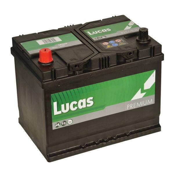 334/250 Lucas Premium Car Battery (LP334)-0