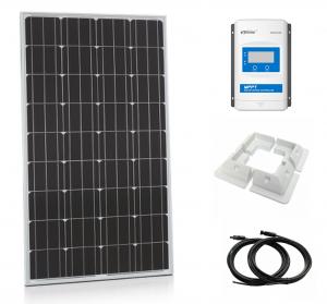 200W Xplorer German Cell Solar Panel MPPT Kit-0