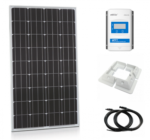 200W Xplorer German Cell Solar Panel MPPT Kit-0
