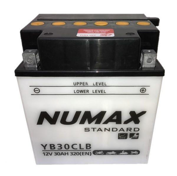 Numax YB30CL-B Motorcycle Battery-0