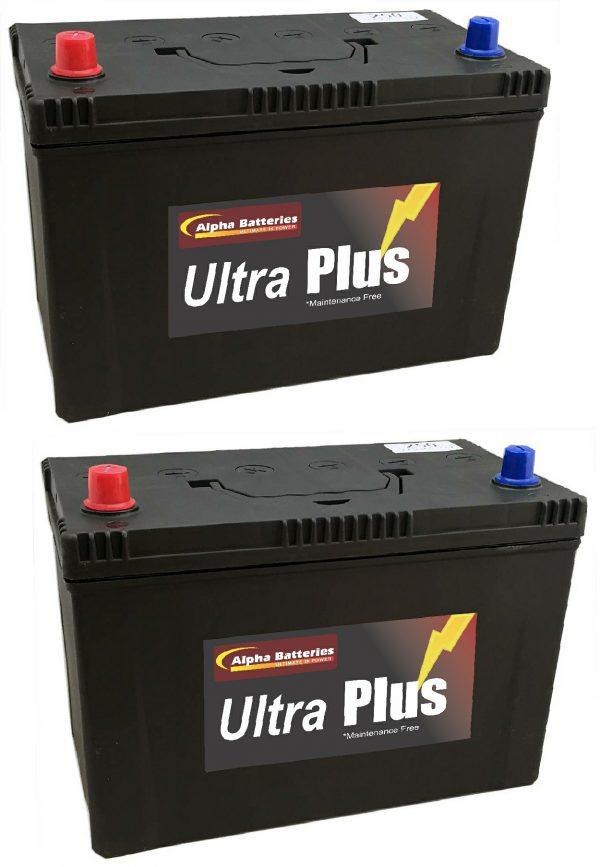 Mistubishi Pajero Ultra Plus 4x4 Batteries (Pair)-0