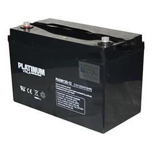 12v 100AH Platinum AGM Leisure Battery (PAGM100-12) NCC Class A-0
