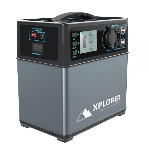 Xplorer 300W Lithium Solar Portable Power Supply Generator-0
