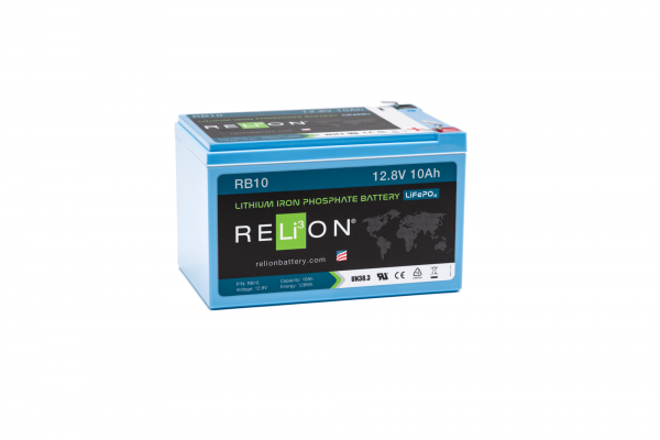 12V 10AH Relion Lithium Ion Battery RB10-0