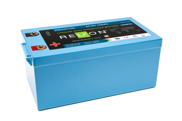 24v 100ah Relion Lithium Ion Battery Rb24v100-0