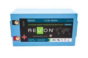 12V 300AH Relion Lithium Ion Battery RB300-0