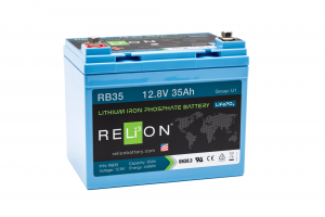 12V 35AH Relion Lithium Ion Battery RB35-0