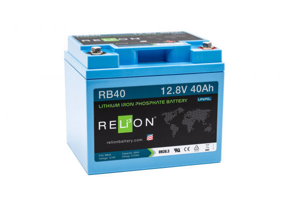 12V 40AH Relion Lithium ion Battery RB40-0