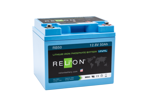 12V 50AH Relion Lithium ion Battery RB50-0