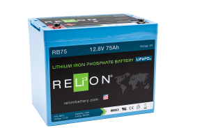 12v 75AH Relion Lithium ion Battery RB75-0