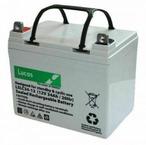 Lucas 34AH 27-36 Hole Golf Trolley Battery-0