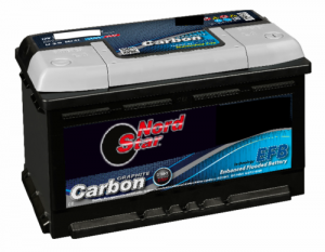 069 NORDSTAR EFB CARBON STOP START CAR BATTERY-0