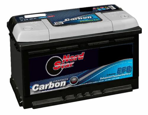 069 NORDSTAR EFB CARBON STOP START CAR BATTERY-0