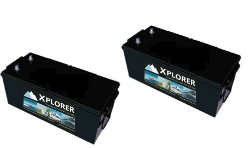 Pair of Xplorer 629 Sealed Heavy Duty Commercial Batteries-0