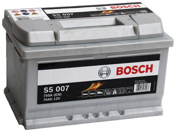 Volkswagen T4, T5 & T25 74AH Bosch Silver Starter & Auxiliary Battery-0
