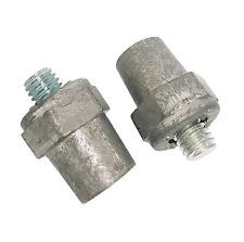 Pair of M8 to SAE Round Post Adapters-0