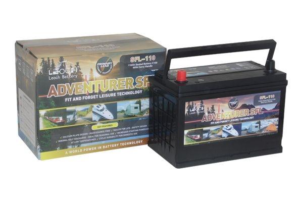 12V Leoch Adventurer 100AH Leisure Battery (SFL110)-0