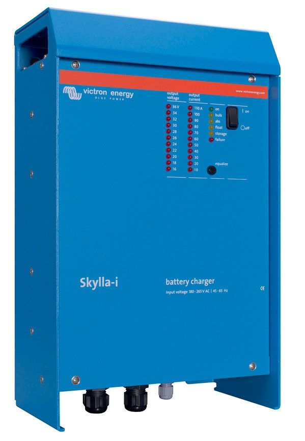 Victron Energy Skylla-i IP21 Battery Charger 24V/80A/230V (1+1) - 1 Output - SKI024080000-0