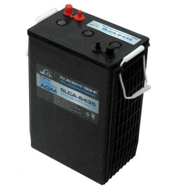 6V 435AH Leoch AGM Superior Lead Carbon AGM Battery (SLCA-6435-DT) (L16)-0