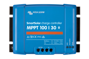 Victron Smart Solar Mppt 100/30 Solar Charger Controller With Bluetooth 12/24v 30a - Scc110030210-0