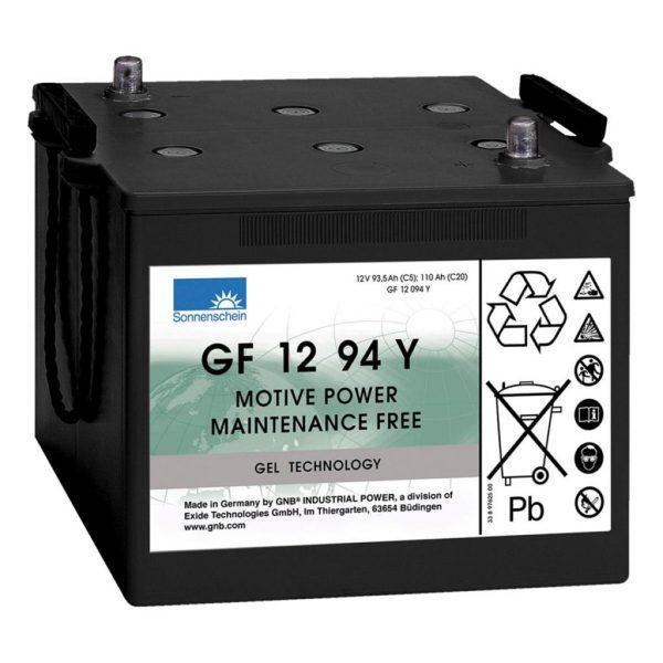 12v 110ah Sonnenschein GF12094Y GEL Battery (ES1200) (DETA DG110)-0