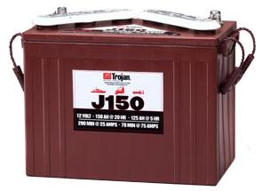 12v 150AH J150 Trojan Deep Cycle Battery-0