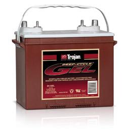 24-GEL Trojan Deep Cycle Battery-0