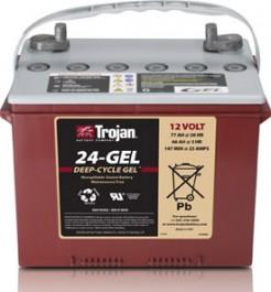 24GEL-DT Trojan Deep Cycle Battery-0