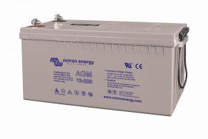 12v Victron Energy 220ah Agm Battery - Bat412201084-0