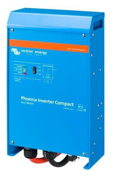 12V 1600W Victron Energy Phoenix Pure Sine Inverter Compact 12/1600 230V VE.Bus - CIN121620000-0