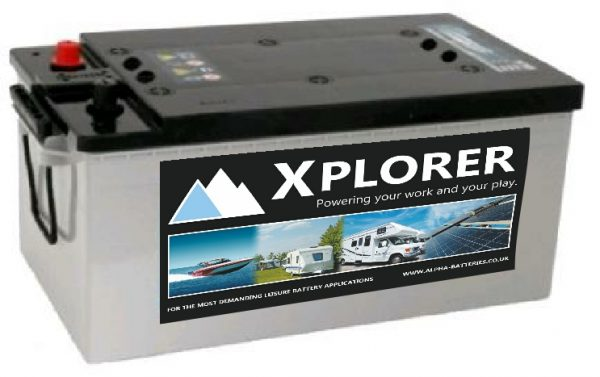12V 220AH Xplorer™ AGM Leisure Battery-0