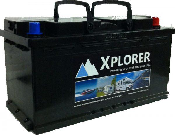12V 110AH Xplorer Low Height Leisure Battery-0