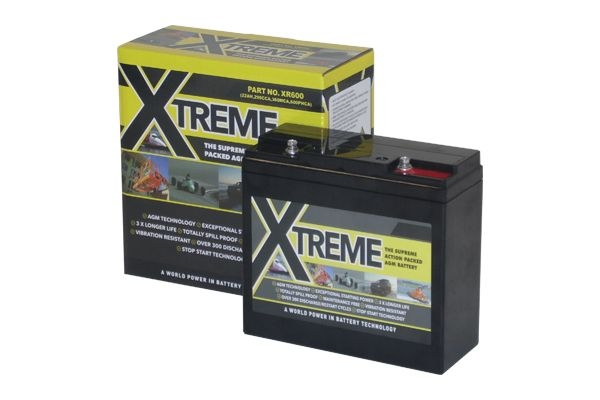 12v Xtreme XR600 26AH Dry Cell Racing Car Battery (PC630)-0